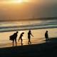 2004年奨励賞 【夕日の渚】 坂本義治さん 撮影地:神奈川県鵠沼海岸