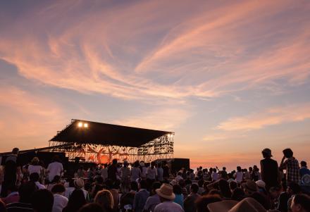 日本海夕日コンサート